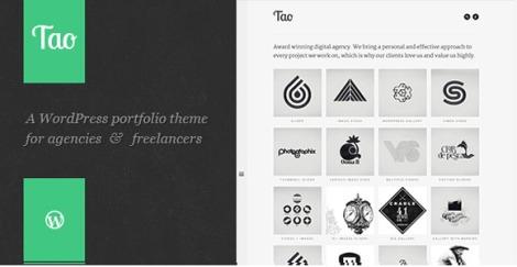 Tao Retina Responsive WordPress Portfolio Theme